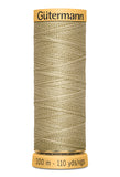 Gutermann Cotton Thread (100M) (Brown)