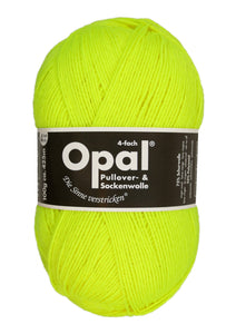 Opal Uni 4ply Sock Yarn - Fluorescent Colours