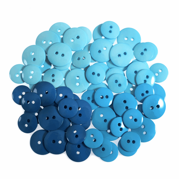 Trimits Buttons - Blues