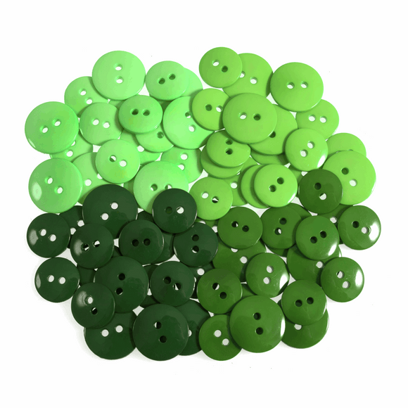 Trimits Buttons - Greens