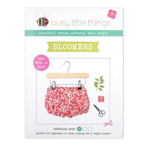 Busy Little Things - Bloomers Pattern