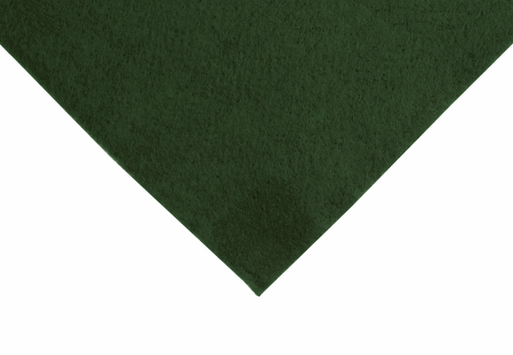 Wool Mix Felt by the Metre - Green