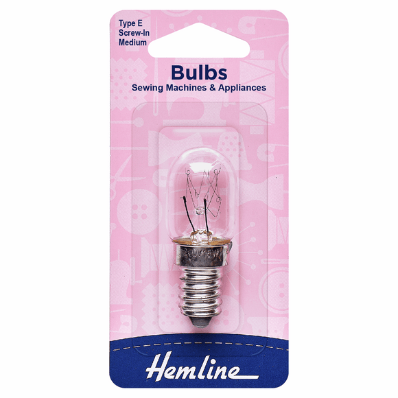 Hemline Sewing Machine Bulb