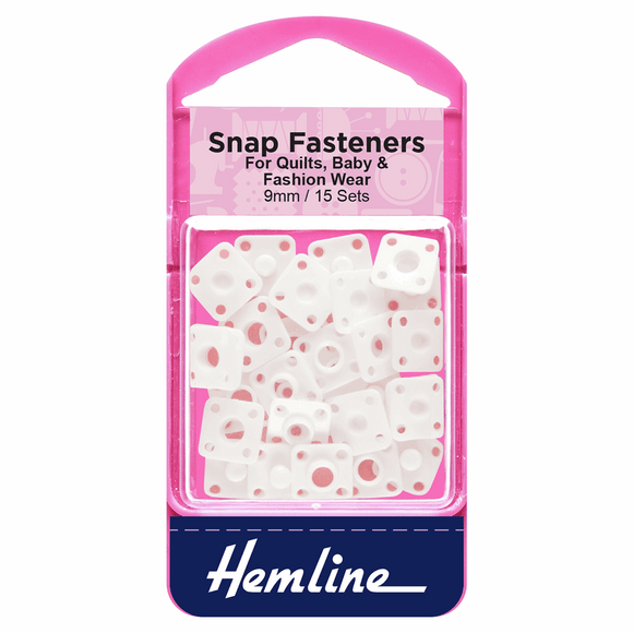 Hemline Snap Fasteners 9mm