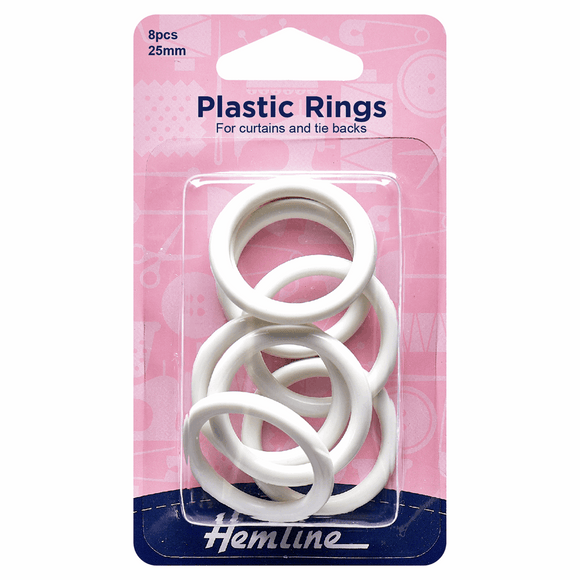 Plastic Curtain Rings