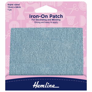 Hemline Iron-On Repair Fabric