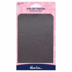Hemline Iron-On Patches