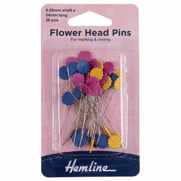 Hemline Flower Pins
