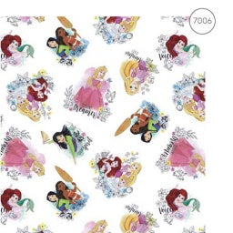 Disney Character Cotton - Princesses