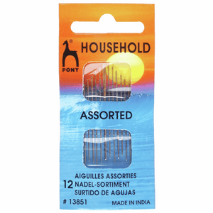 Pony Hand Sewing Needles - HOUSEHOLD ASSORTED