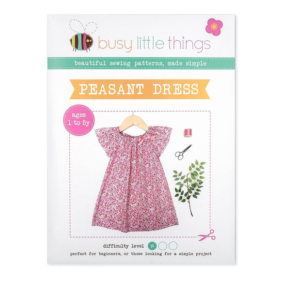 Busy Little Things - Peasant Dress Pattern