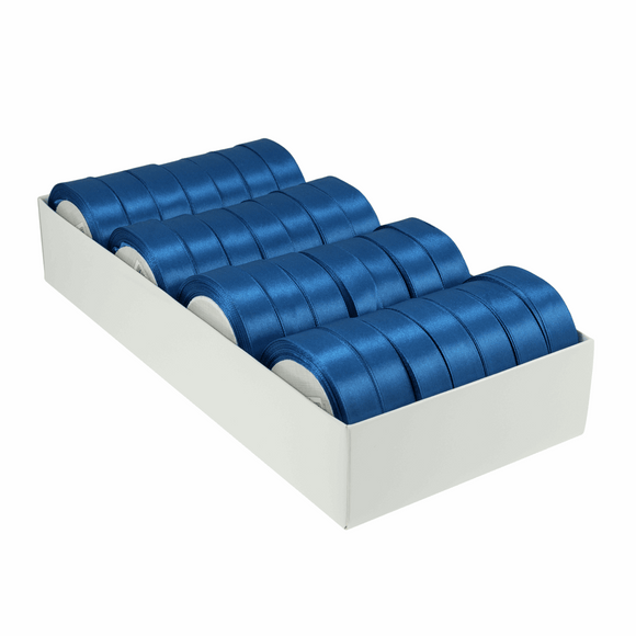 Satin Ribbon - 15m x 20mm - Royal Blue