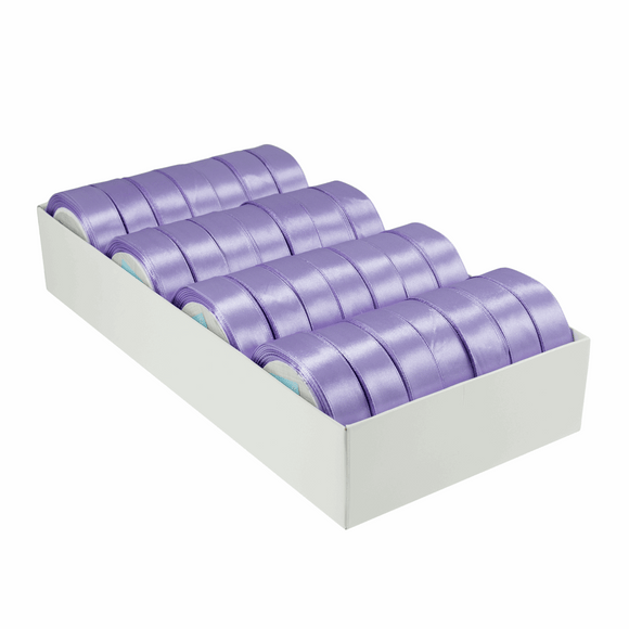 Satin Ribbon - 15m x 20mm - Lilac
