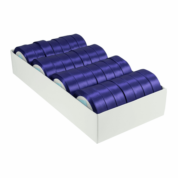 Satin Ribbon - 15m x 20mm - Purple