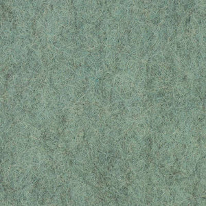 "Wool Mix Felt Square - 12"" (30cm) - Marl Jade"