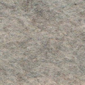 "Wool Mix Felt Square - 12"" (30cm) - Marl Grey"