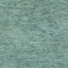 "Wool Mix Felt Square - 12"" (30cm) - Marl Turq"