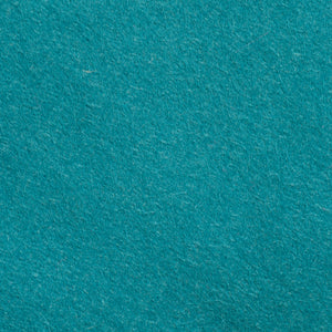 "Wool Mix Felt Square - 12"" (30cm) - Teal"