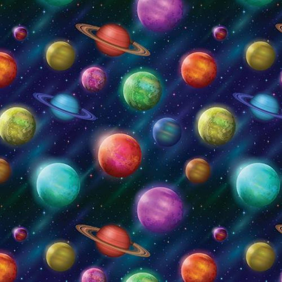 Chatham Glyn Crafty Cotton - Planets
