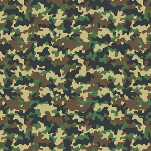 Chatham Glyn Crafty Cotton - Camouflage Brown/Green