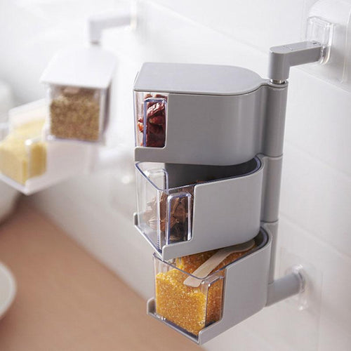 360 Rotating Seasoning Storage Box