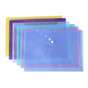 1PC A4 Clear Document Bag