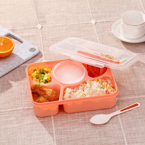 5 Grid Microwave Bento Lunch Box