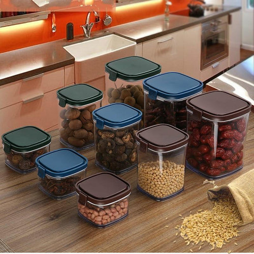 powder snack storage box