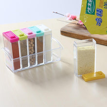 Load image into Gallery viewer, 6pcs Clear Plastic Seasoning Box