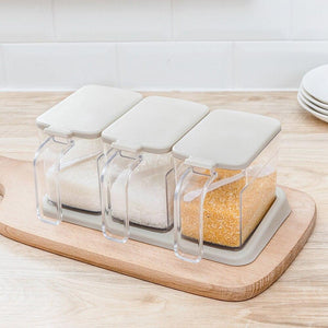 Kitchen condiment storage box