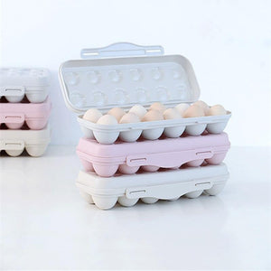 12 Grid Stackable Egg Storage Box