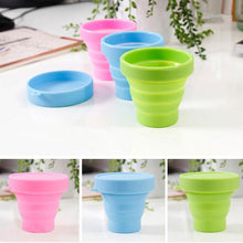Load image into Gallery viewer, 1Set Silicone Collapsible Travel Cup