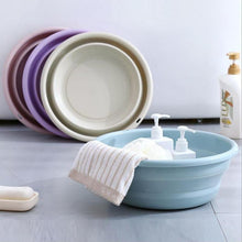Load image into Gallery viewer, Basin Collapsible Plastic Washbasin
