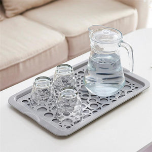 Double Layer Dish Tray