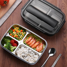 Load image into Gallery viewer, Quality  Stainless Steel Lunch Box