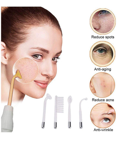 High Frequency Facial Machine| Spot Acne Remover, Skin Tightening,Lift Puffy Eyes