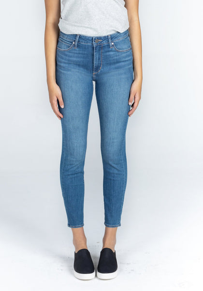 HEATHER HIGH RISE DENIM - PEARL CITY