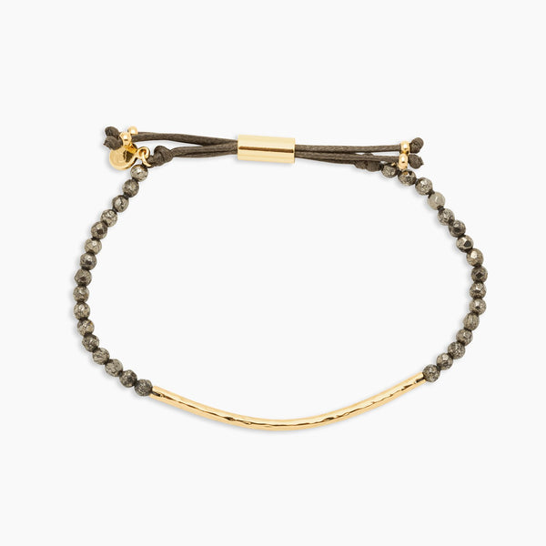 POWER GEMSTONE BRACELET - PYRITE