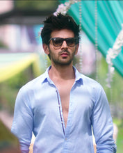 Load image into Gallery viewer, Bollywoo- SONU KE TITU KI SWEETY Blue Casual Shirt
