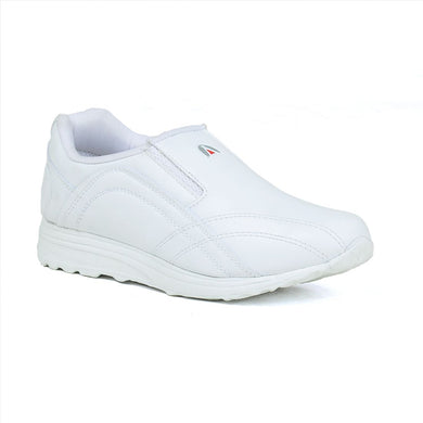 Men's White Sports shoes without lace