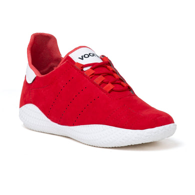 Men's Red and white casual shoes