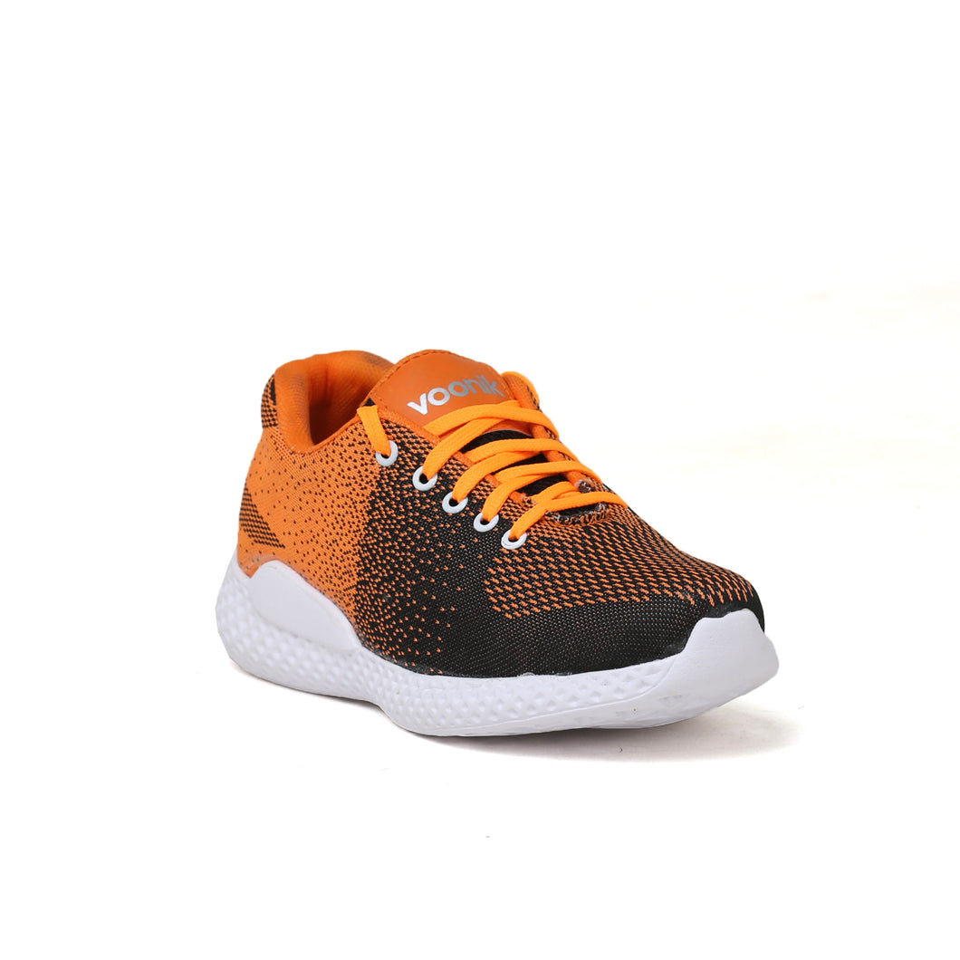 Men's Orange and white casual shoes