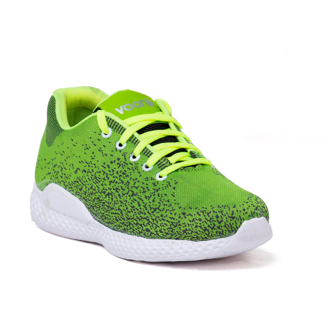 Men's Green and white casual shoes