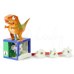 Do It Yourself 3D Sheet T-Rex Automaton (8 Yrs & Above)