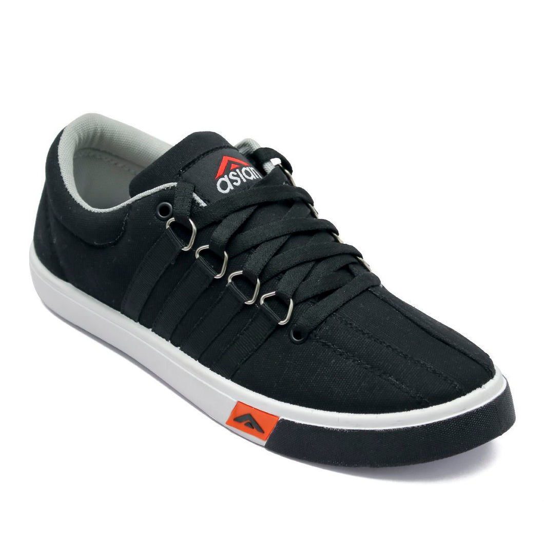 Men's Black and white casual shoes