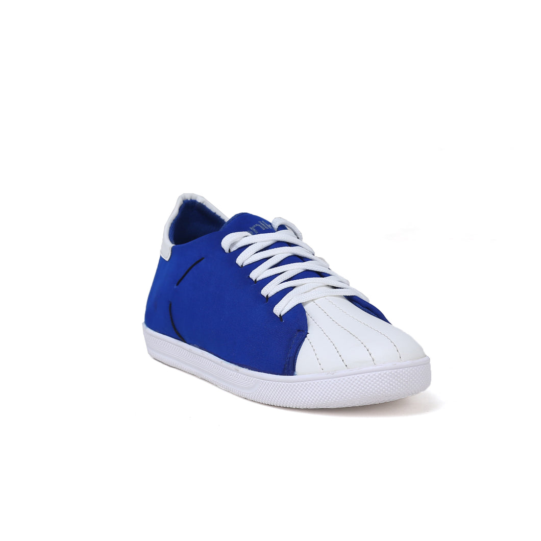 Men's Blue and white Casual Shoe