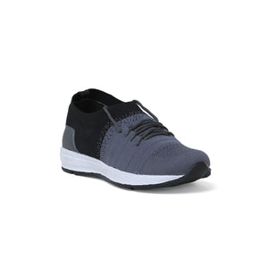 Men's Black and Grey Sports shoes