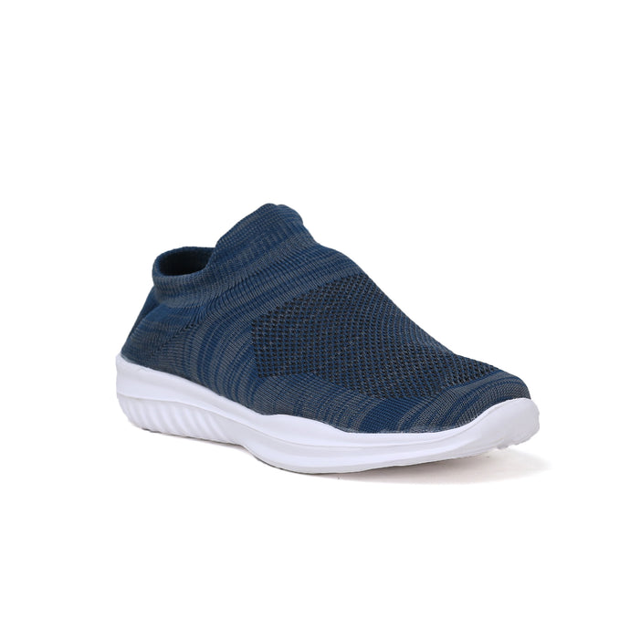 Navy Blue Stripes Casual shoe for Men
