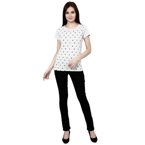 Womens Printed T-Shirt