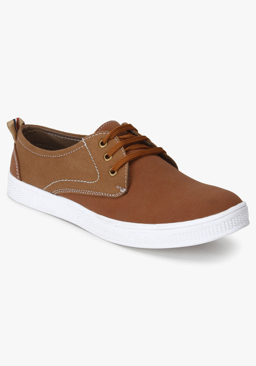 Men's Brown Casual Sneaker Shoe